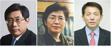 (좌로부터)박상기 교수, 박은정 위원장, 이진규 1차관