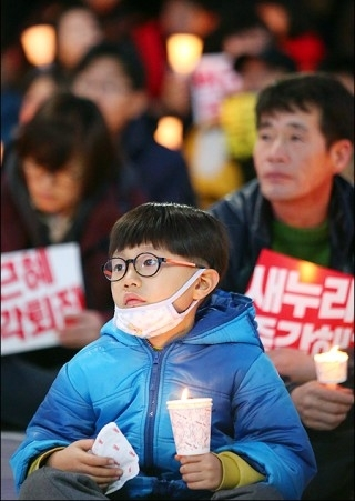 ▲ 제11차 박근혜 즉각 퇴진 제주도민 촛불집회 ⓒ제주의소리(김정호)