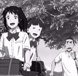 신카이 마코토 감독의 애니메이션 '너의 이름은.'.