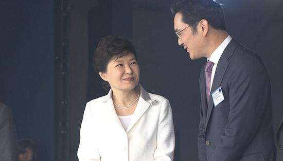 박근혜 이재용 / 사진=KBS 제공