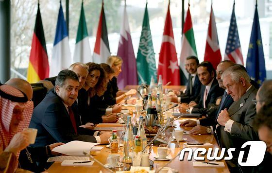 G20 외무장관회의 모습. © AFP=뉴스1
