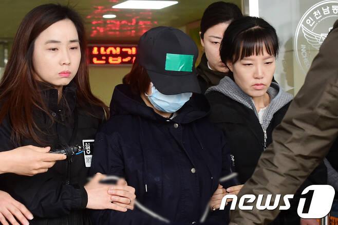 '인천 초등생 살인사건'의 주범으로 지목된 A양. 뉴스1 DB