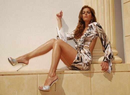 모델로 활동하던 당시 제시카 노타로의 아름다웠던 모습.(자료사진)