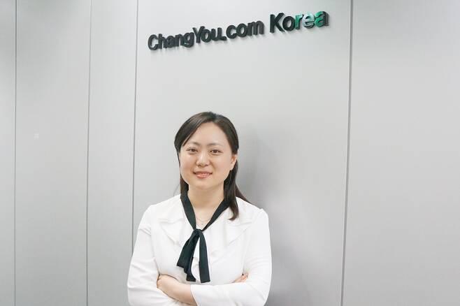 창유코리아 최혜연 지사장
