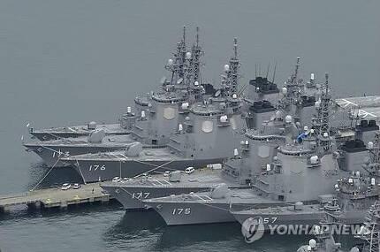 일본 해상자위대 이지스함(교도.연합뉴스.자료사진)