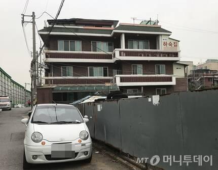 서울 영등포구 신길동 소재 한 하숙집. /사진=신현우 기자