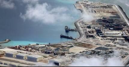 중국의 남중국해 '군사 요새섬' [필리핀 데일리 인콰이어러 캡처]