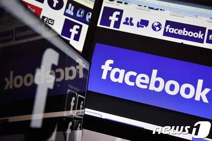 페이스북 로고. © AFP=뉴스1