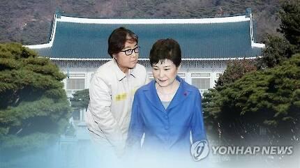 박근혜와 최순실 (CG) [연합뉴스TV 제공]
