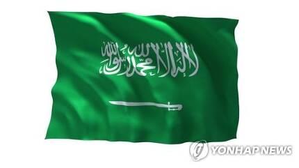 사우디아라비아 국기[연합뉴스TV 제공]