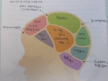 초등학생들은 자신의 뇌 상태를 표현해보라는 과제에 종합레저타운이 재개발된 자신의 모습을 표현하곤 한다 ⓒ권장희