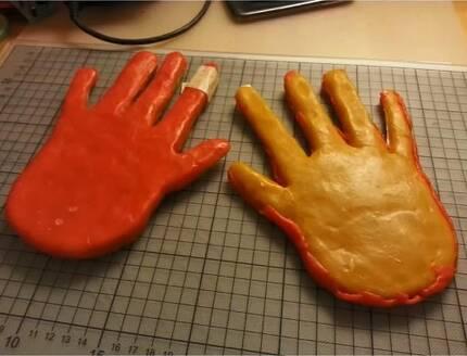정맥 인증 보안을 해제한 '밀랍 손'