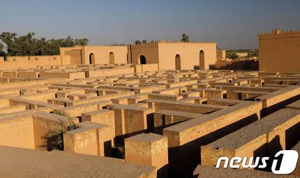 바빌로니아의 수도인 바빌론의 유적 © 로이터=뉴스1