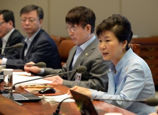 중동식 독감, 박근혜 대통령