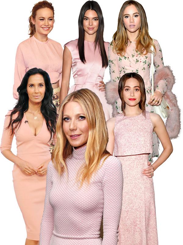2016년 올해의 컬러로 선정된 핑크빛의 로즈 쿼츠.