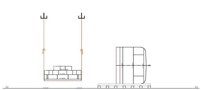 여객실 부분을 절단한 뒤 누워 있는 세월호 선체를 바로 세울 예정임 자료 : 더불어민주당 위성곤 의원, 코리아쌀베지(주)