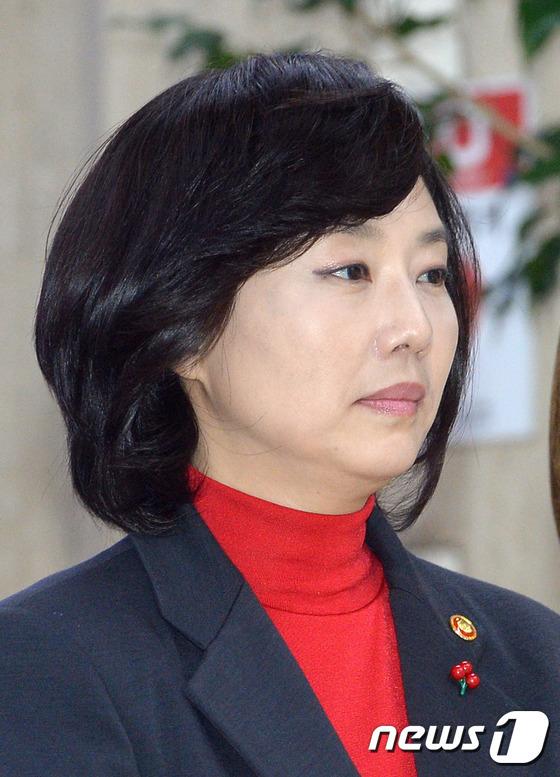 조윤선 문화체육관광부 장관/뉴스1 © News1 황기선 기자