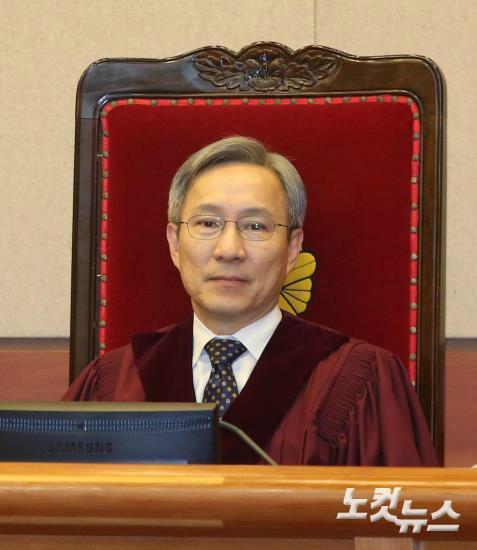 강일원 헌법재판관. (사진=박종민 기자/자료사진)