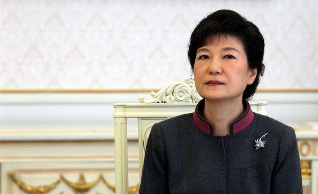 박근혜 대통령. 한국일보 자료사진