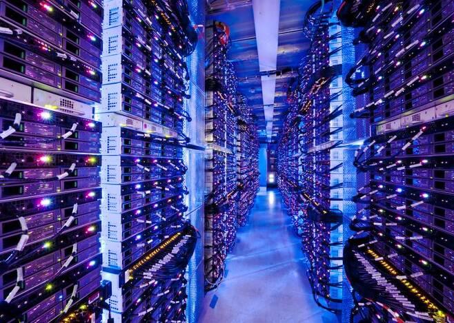 마이크로소프트 데이터센터 전경