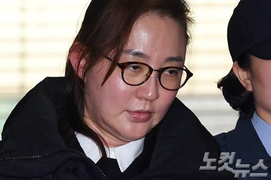 비선진료 김영재원장 부인 박채윤씨. (사진=이한형 기자)