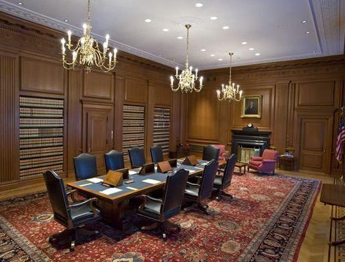 미국 대법원의 대법관 회의실. (사진=미국 대법원)