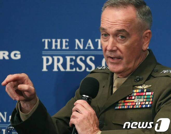 조지프 던포드 미 합참의장.  © AFP=뉴스1 © News1 우동명 기자