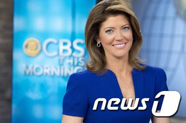 미국 CBS방송 앵커인 노라 오도넬. (출처 : 미 CBS) © News1