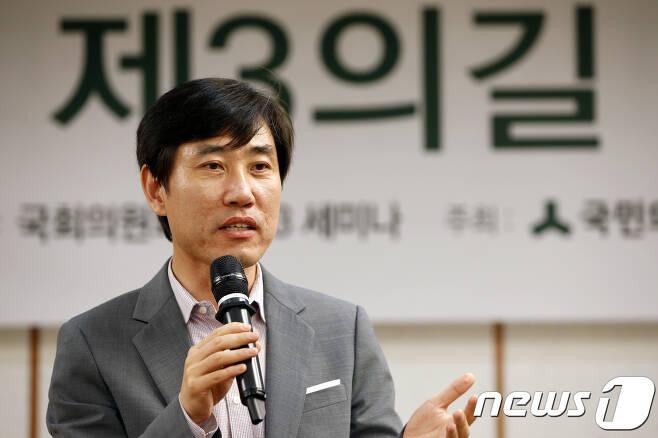 하태경 바른정당 의원. 2017.8.10/뉴스1 © News1 안은나 기자