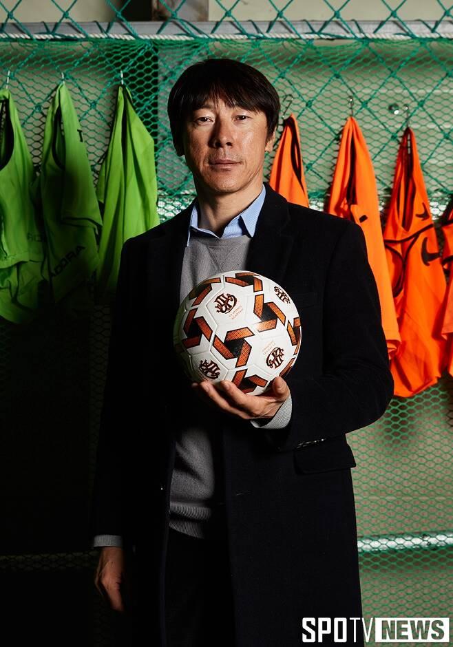 ▲ U-20 한국축구대표팀 사령탑 신태용 감독. ⓒ 한희재 기자