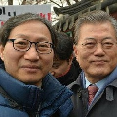 김성주 전 의원(왼쪽)과 문재인 대통령. /사진=김성주 전 의원 페이스북