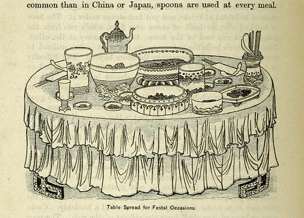 1889년 출간된 <은자의 나라 코리아> 제3판에 실린 삽화.