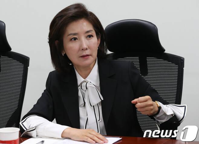 나경원 자유한국당 의원 © News1 허경 기자