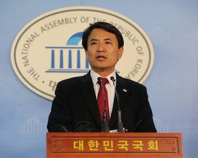 자유한국당 김진태 의원. 강창광 기자 chang@hani.co.kr