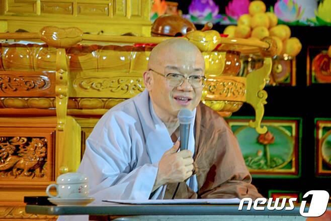 능인선원 지광스님.2018.3.19/뉴스1