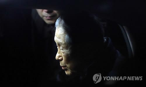 이명박 전 대통령의 친형 이상은 다스 회장 [연합뉴스 자료사진]