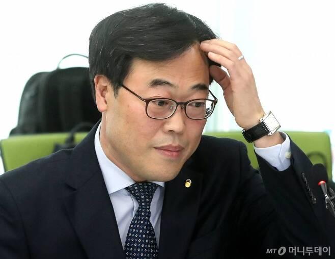 김기식 전 금융감독원장