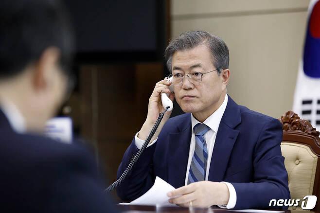 문재인 대통령. (청와대 제공)2018.4.24/뉴스1