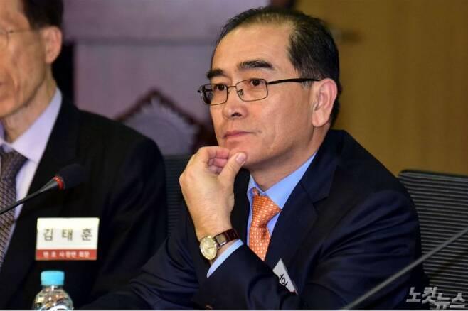 태영호 전 영국주재 북한 공사. (사진=윤창원 기자/자료사진)