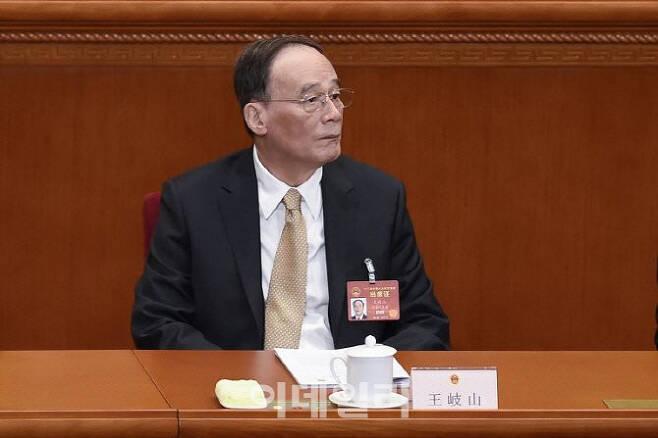 왕치산 중국 국가 부주석[AFPBB 제공]
