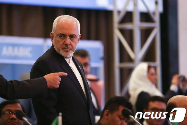 모하마드 자바드 자리프 이란 외무장관. © AFP=뉴스1