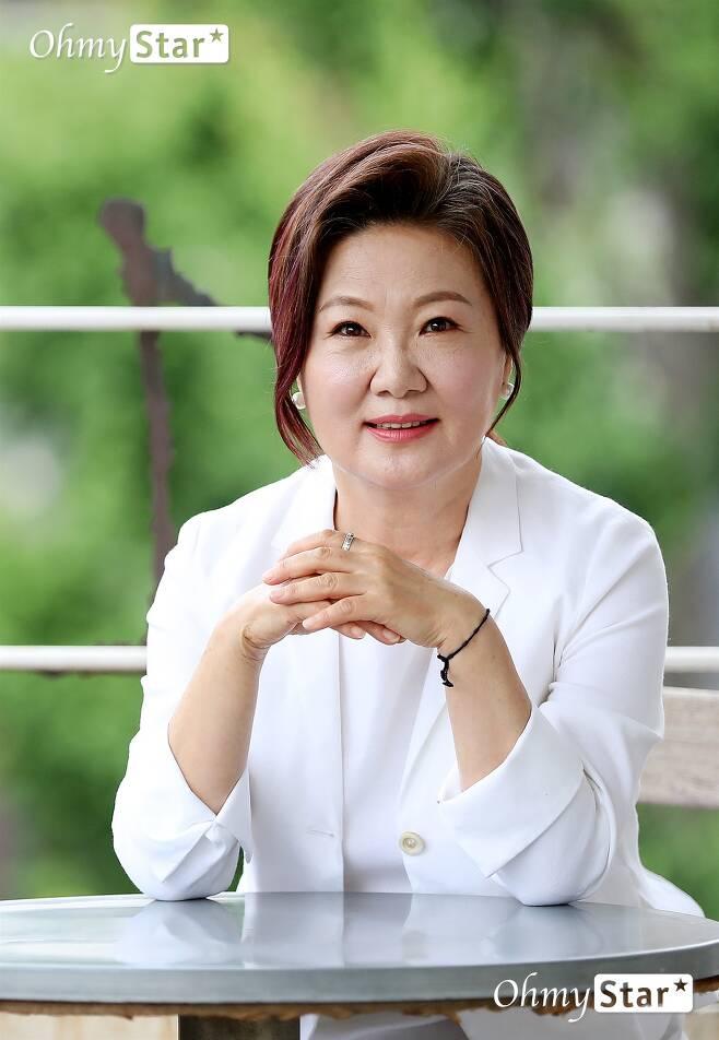 영화 <허스토리>의 배우 김해숙. ⓒ이정민