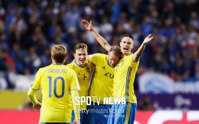 ▲ 스웨덴의 승리