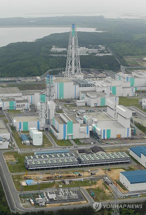 아오모리(靑森)현의 롯카쇼무라 핵연료 재처리공장 전경 [교도=연합뉴스 자료사진]