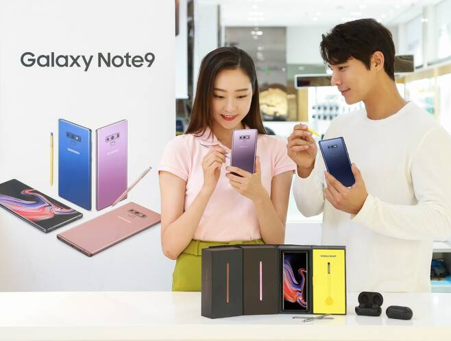 삼성전자가 8월 24일 '갤럭시 노트9' 정식 출시를 앞두고 13일부터 예약판매를 시작한다./사진=삼성전자