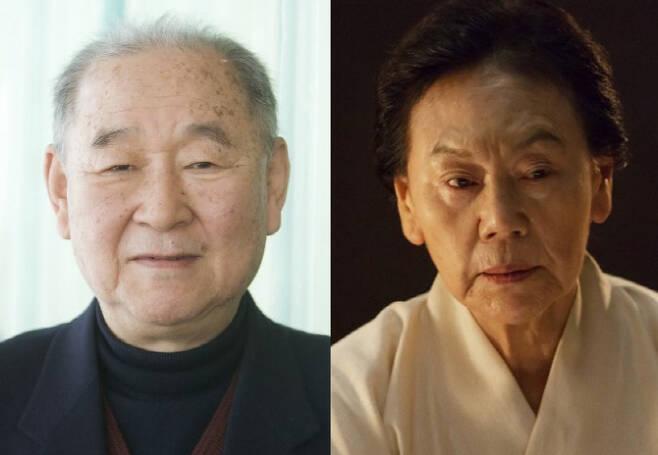 故김인태(왼쪽), 아내 백수련