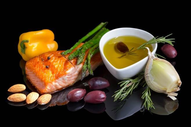 지중해식 식단 효과 효능(사진=123rf.com)