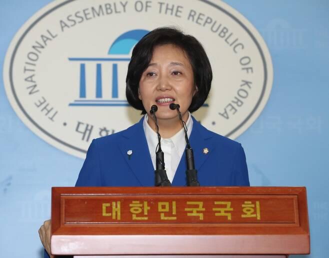 박영선 더불어민주당 의원. 강창광 기자 chang@hani.co.kr