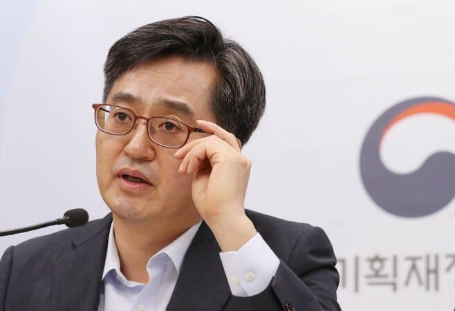 ▲ 김동연 경제부총리 겸 기획재정부장관. 사진=기획재정부