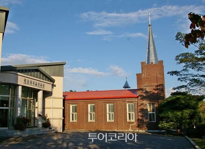▲ 최초의 기독복음 전례지 중화동 교회